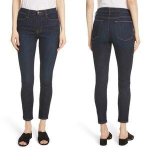 FRAME DENIM Le High Ankle Skinny Crop Jeans